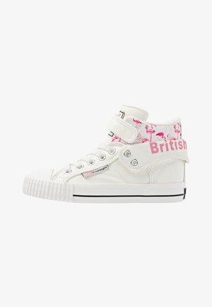 ROCO - Zapatillas altas - white/flamingo