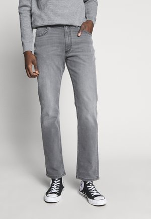BROOKLYN  - Straight leg jeans - moto flat