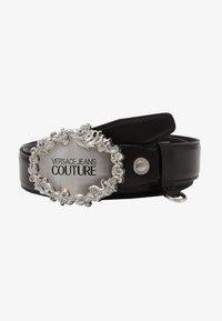 Versace Jeans Couture - Pasek - black/silver - 4