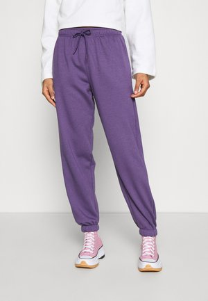 HARLEY  - Tracksuit bottoms - plum