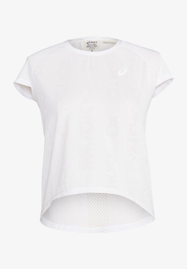 FUTURE TOKYO VENTILATE - T-shirt con stampa - brilliant white