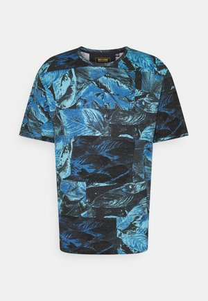 ONSVERNON LIFE TEE - T-shirt print - dark navy
