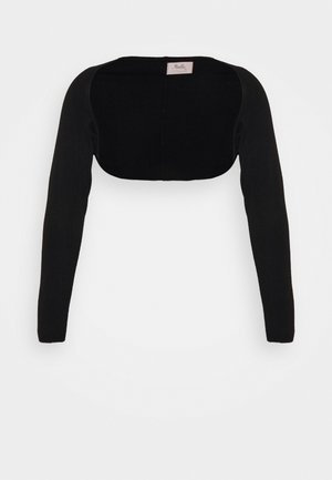 LONG SLEEVE SHRUG - Cardigan - black