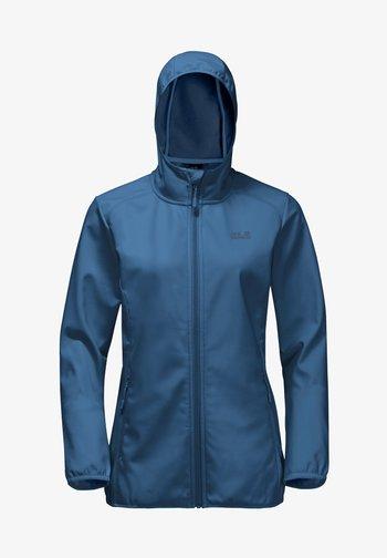 NORTHERN POINT WOMEN - Soft shell jacket - indigo blue