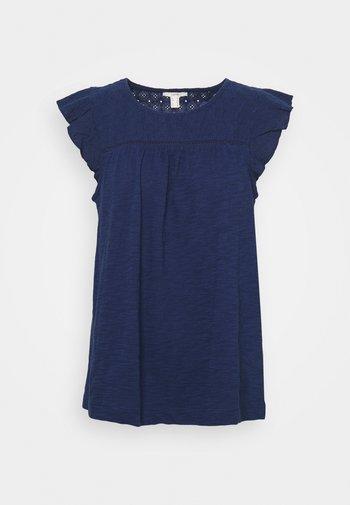MIX - Print T-shirt - dark blue