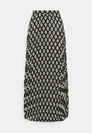ONLALMA LIFE PLISSE SKIRT  - Maxi skirt - black