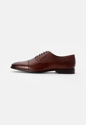 FLORENCE OXFORD - Lace-ups - cow bovino brown