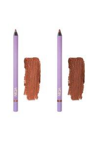 NIQA COSMETICS - EYE & LIP TRIO - Makeup set - schwarz - 3
