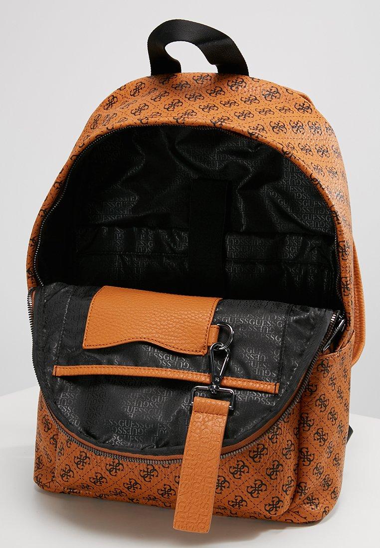 Guess CITY LOGO BACKPACK - Tagesrucksack - orange/tan - Herrentaschen mM821