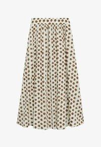 Mango - A-line skirt - offwhite - 6