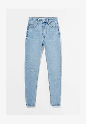 SUPER HIGH WAIST - Jeans Skinny Fit - blue denim