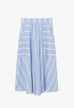 A-snit nederdel/ A-formede nederdele - bleu ciel