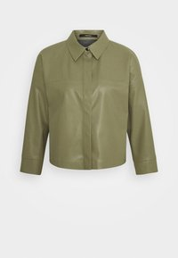NAARA  - Faux leather jacket - green days