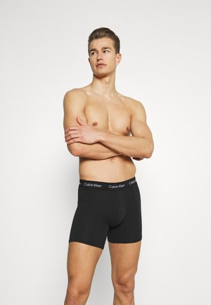 BOXER BRIEF 3 PACK - Pants - blue/strawberry field/black