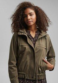 edc by Esprit - Summer jacket - khaki green - 3
