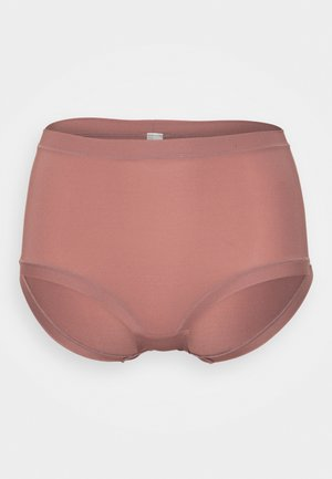 CONTROL CLASSIC HIGH - Pants - dark dusty pink