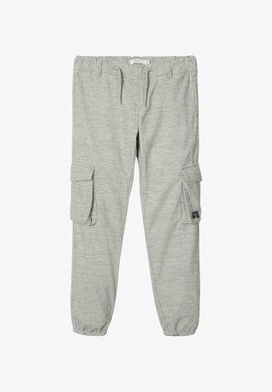 Cargo trousers - grey melange