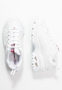 Skechers - ENERGY - Trainers - white/red/navy - 0