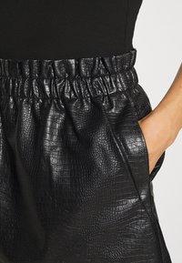 ONLY - ONLCOCO SKIRT  - Mini skirt - black - 6