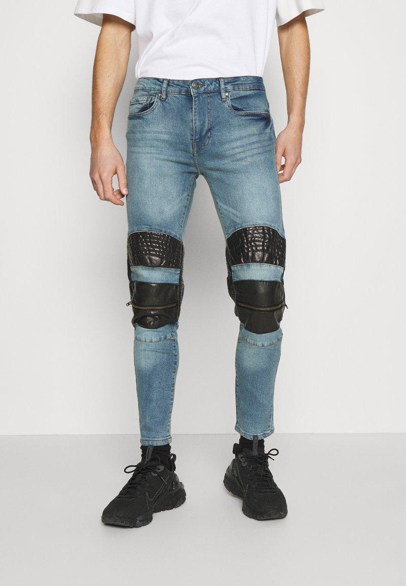 Night Addict - NACROSS - Jeans Skinny Fit - blue denim