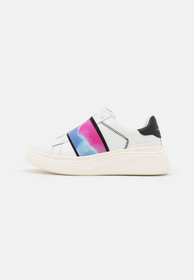 DOUBLE GALLERY - Sneakers laag - white