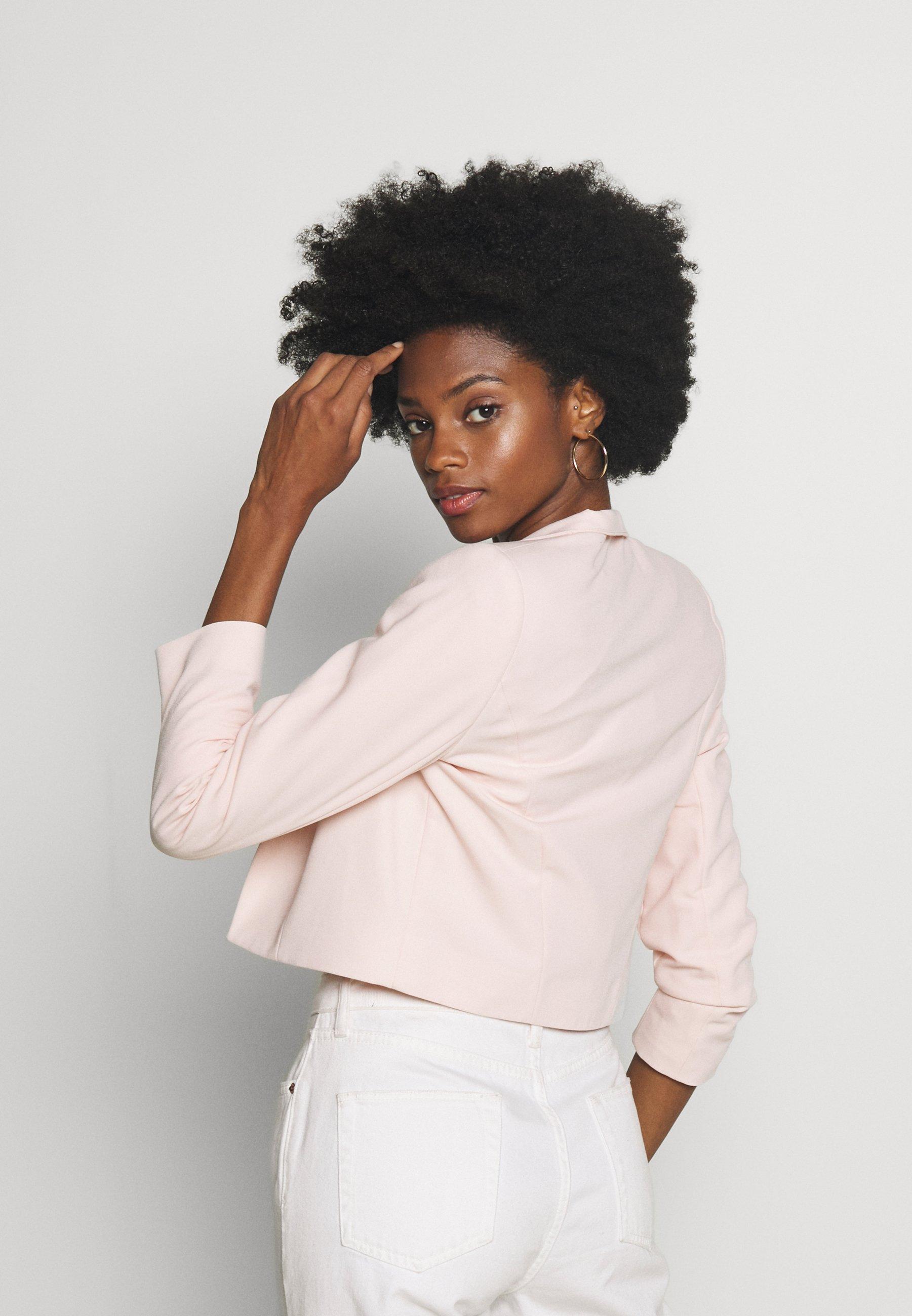 Wallis CROP BOLERO - Blazer - blush | Damenbekleidung billig