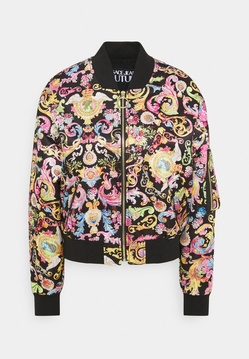 Versace Jeans Couture - LADY JACKET - Bomber Jacket - black