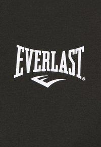 Everlast - RAGLAN TEE SHAWNEE - Triko spotiskem - black - 2