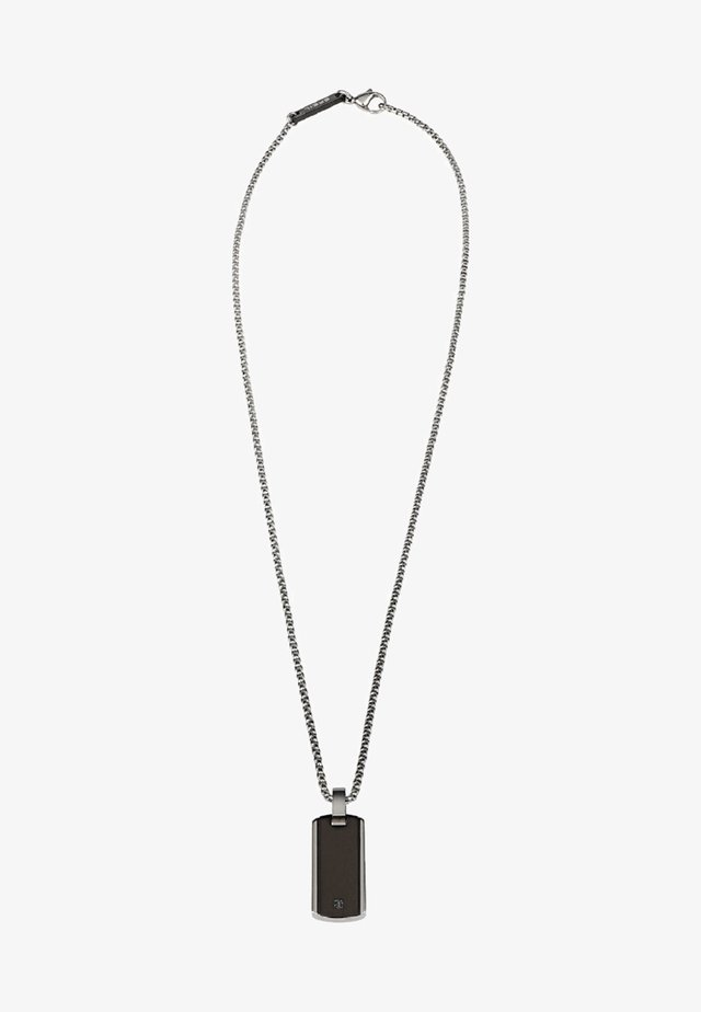 PER UOMO - Necklace - black