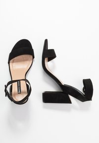 Dorothy Perkins - BLOCK  - Sandaler med høye hæler - black - 3