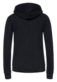 Oklahoma Jeans - REGULAR FIT - Zip-up hoodie - 19-3911 deep black - 6
