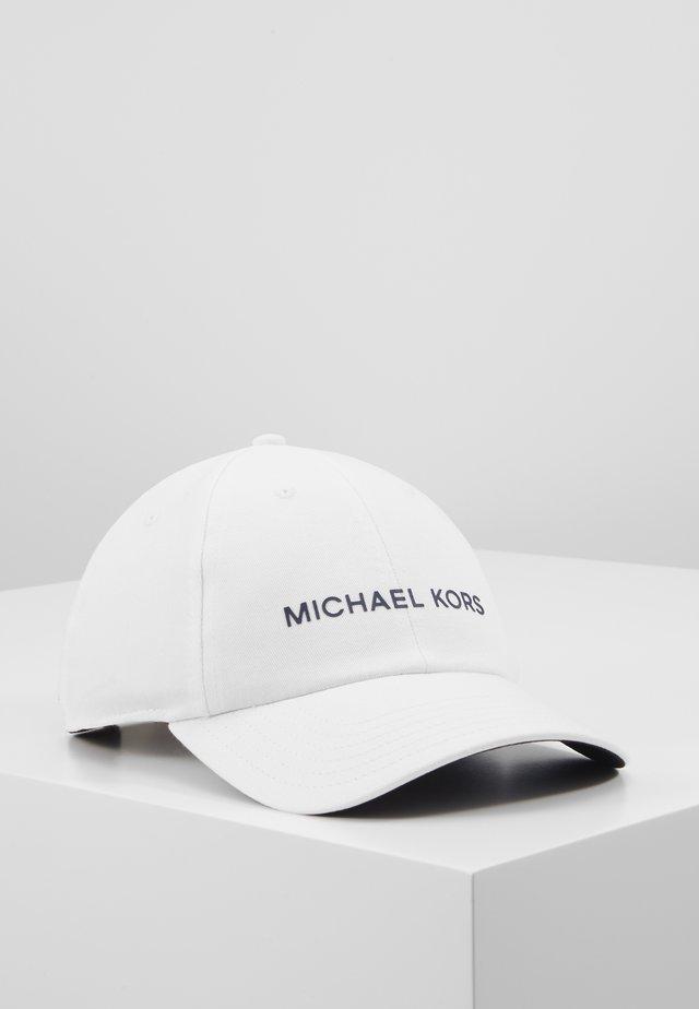 STANDARD LOGO HAT - Czapka z daszkiem - white