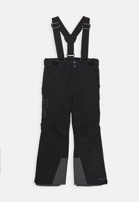 Vaude - KIDS SNOW RIDE PANTS - Spodnie narciarskie - black - 0