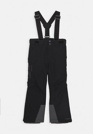 KIDS SNOW RIDE PANTS - Skibukser - black