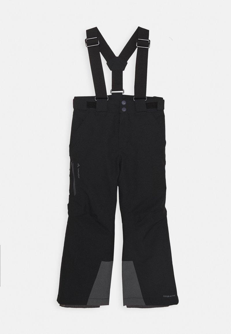 Vaude - KIDS SNOW RIDE PANTS - Spodnie narciarskie - black