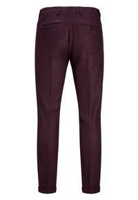 Jack & Jones PREMIUM - Suit trousers - vineyard wine - 7