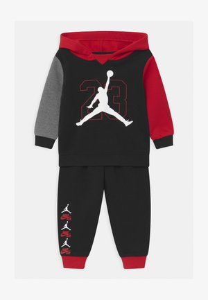SET UNISEX - Tracksuit - black