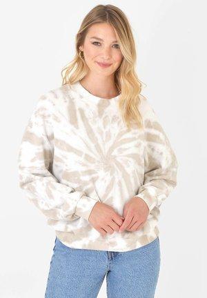DYE - Sweatshirt - stone
