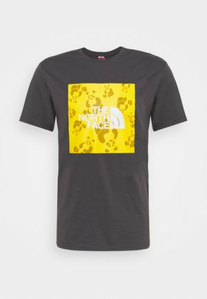 RENEWED PANDA TEE UNISEX - Print T-shirt - graphite grey