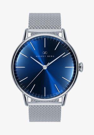 UHR SERENITY DEEP BLUE SILVER SILVER MESH 40MM - Watch - sunray blue