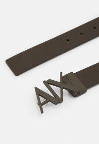 Armani Exchange - BELT - Belt - green/black - 1