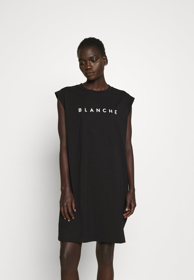 MAIN DRESS - Jerseyjurk - black