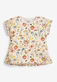 Next - Print T-shirt - yellow - 3