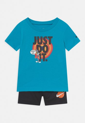 HEMTAPE SET UNISEX - Print T-shirt - blue