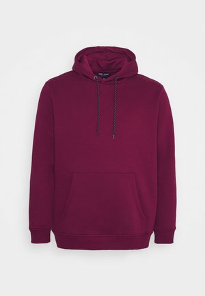 KIMAR PLUS HOOD - Sweatshirt - bordeaux