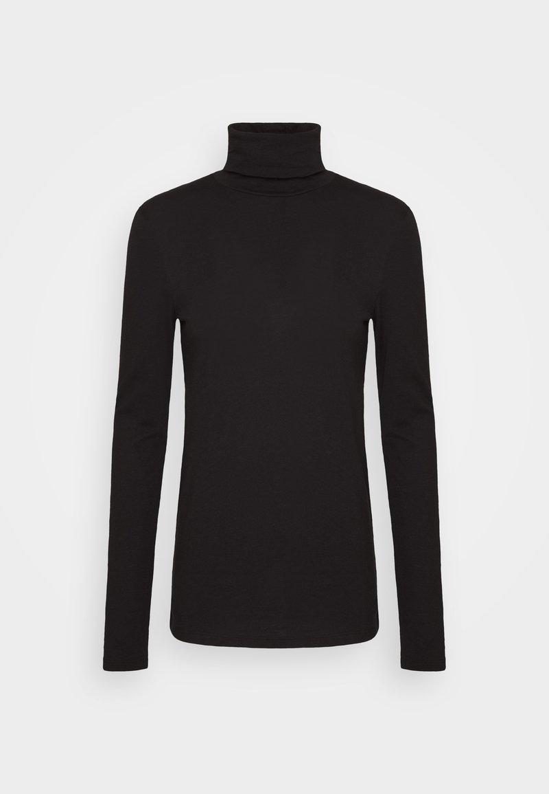 Marc O'Polo DENIM - LONG SLEEVE TURTLE NECK - Long sleeved top - black