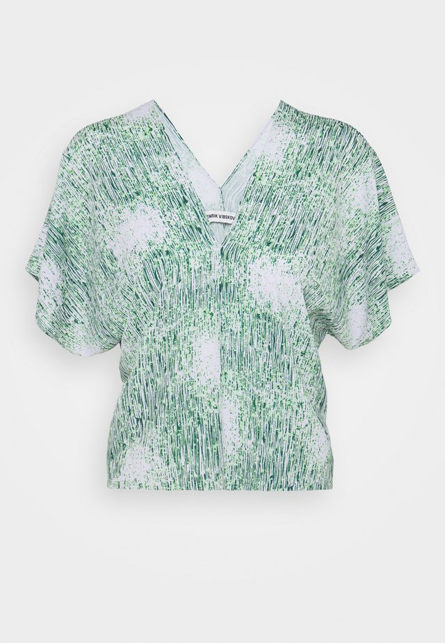 JELLY BLOUSE - Bluzka - melted green