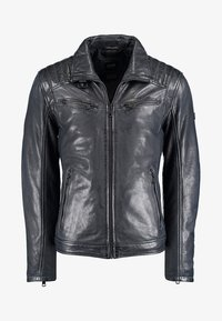 DNR Jackets - Leather jacket - dark blue - 0