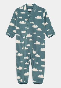Lindex - OVERALL UNISEX - Jumpsuit - dusty turquoise - 0