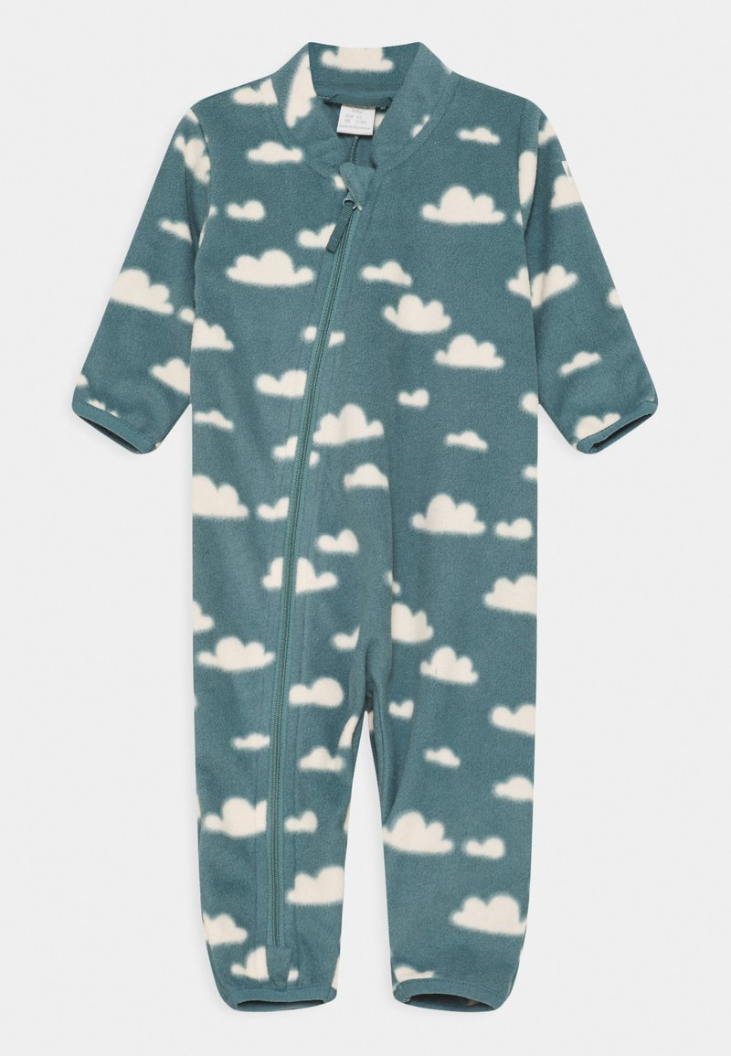 Lindex - OVERALL UNISEX - Jumpsuit - dusty turquoise